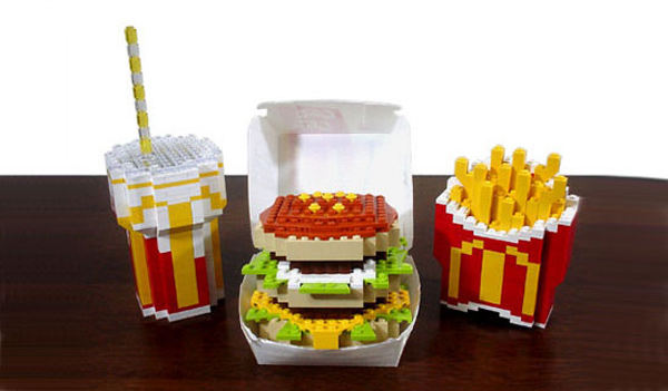 LEGO Fries and Big Mac
