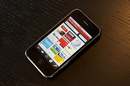 Opera Mini for the iPhone