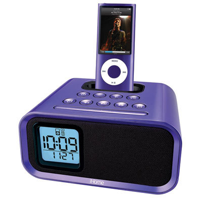goodmans gcr1875ip clock radio ipod dockdealbaby ipod nano review. Black Bedroom Furniture Sets. Home Design Ideas