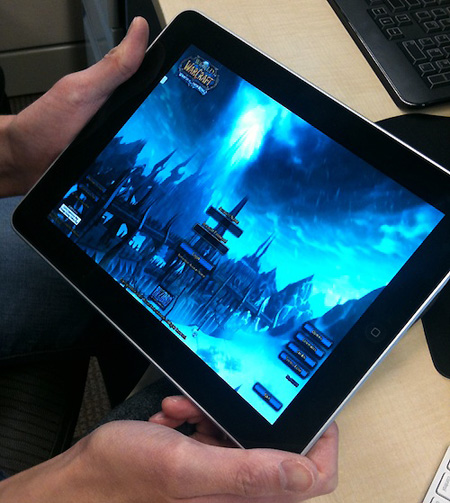 apple ipad world-of-warcraft