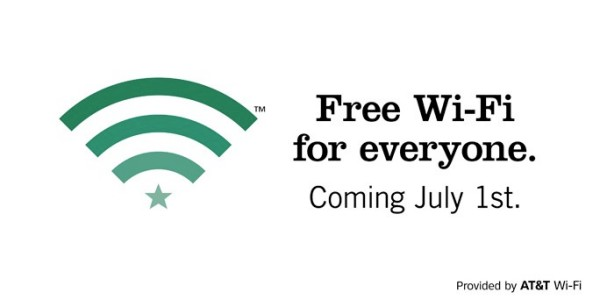 starbucks free wifi