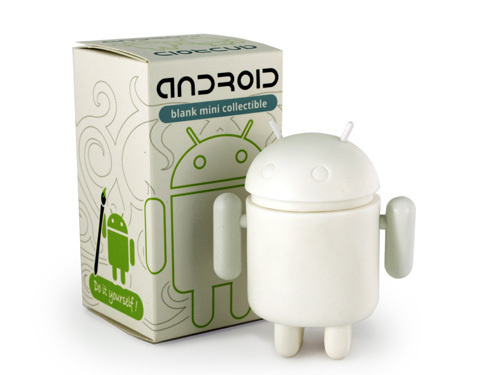 Paintable Android Figurine