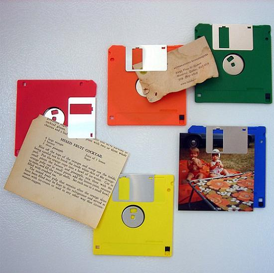 floppy disk fridge magnets