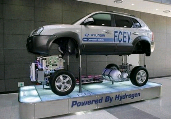 Hyundai Hydrogen-powered Car