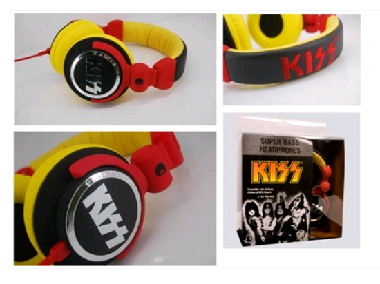 KISS Super Bass Headphones