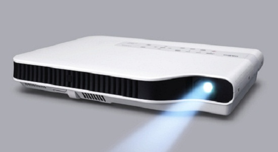 Casio Green Slim projector