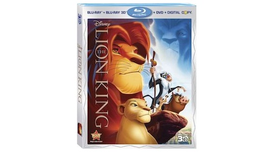 Disney Lion King 3D Blu-ray