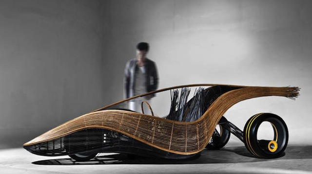 Bamboo car is 'greener', still a concept