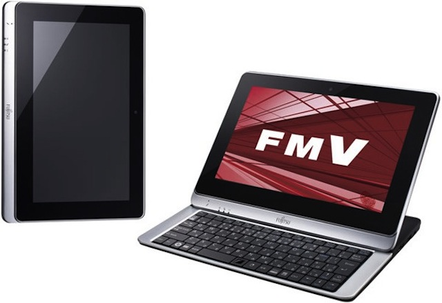 Fujitsu showed off the LifeBook TH40 D