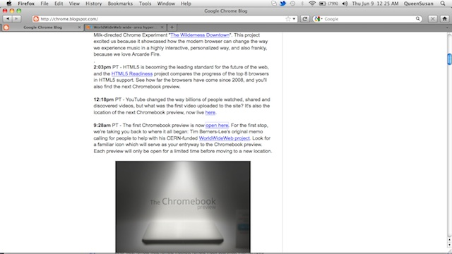 Google Chromebook Preview