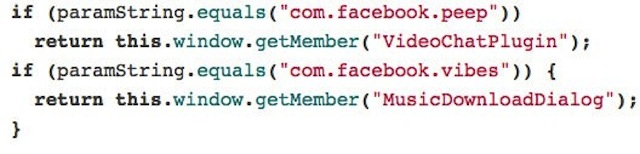 Facebook Vibes Code