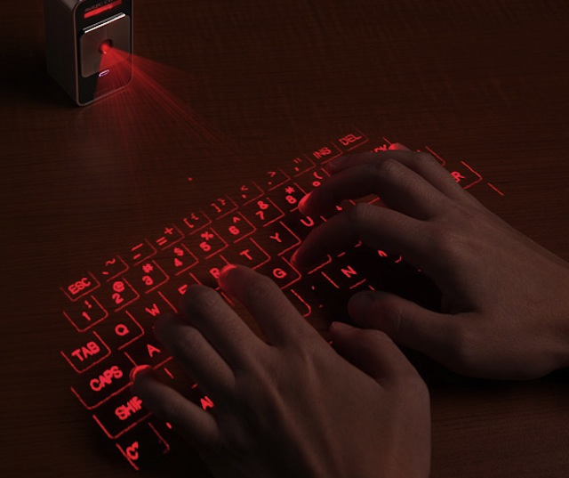 celluon laser projection keyboard