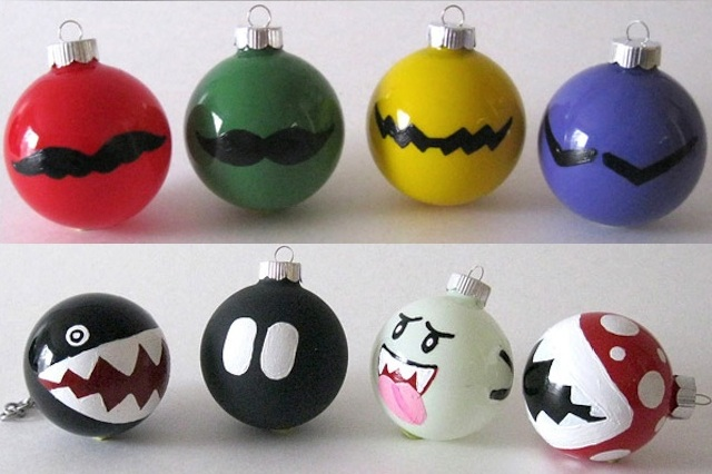 Holiday ideas craft google diy ornaments things for Decoration geek