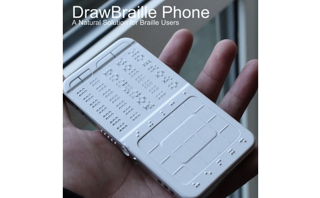 Braille Mobile Phone Concept