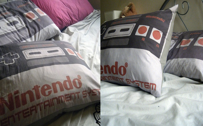 NES Pillowcase and Cushion Cover