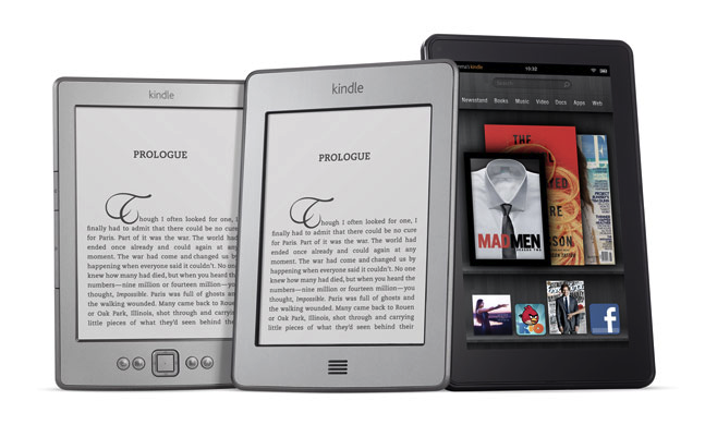 amazon kindle tablets
