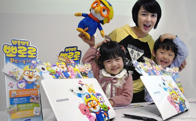 samsung pororo notebook
