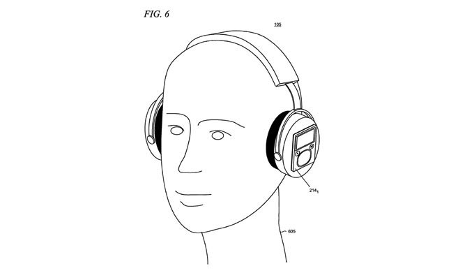 Microsoft patent headphones accessory dock