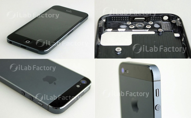 iphone 5 assembled