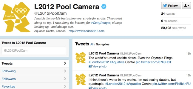 l2012 pool game twitter camera