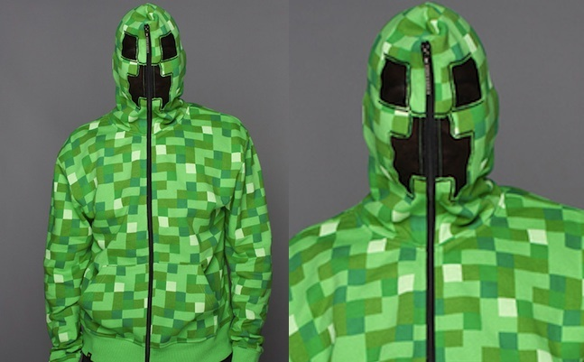 minecraft hoodie jack