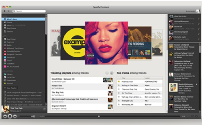 spotify radio desktop liking
