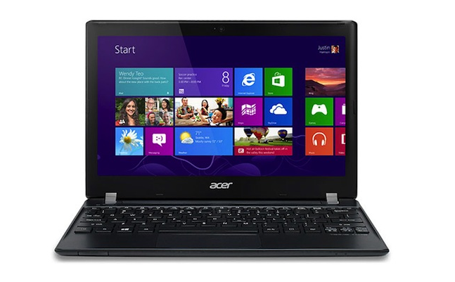 Acer TravelMate B113 ultraportable ultrabook computer