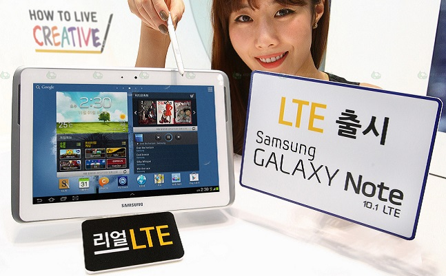 Samsung Galaxy 10.1 LTE to be released in Korea