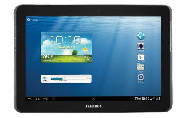 Verizon LTE Samsung Galaxy Tab 2 10.1