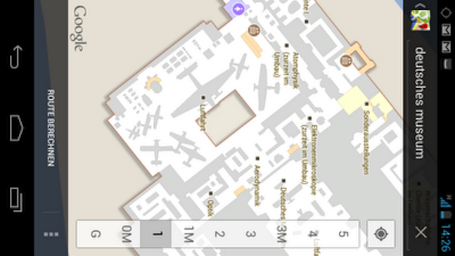 german google indoor maps
