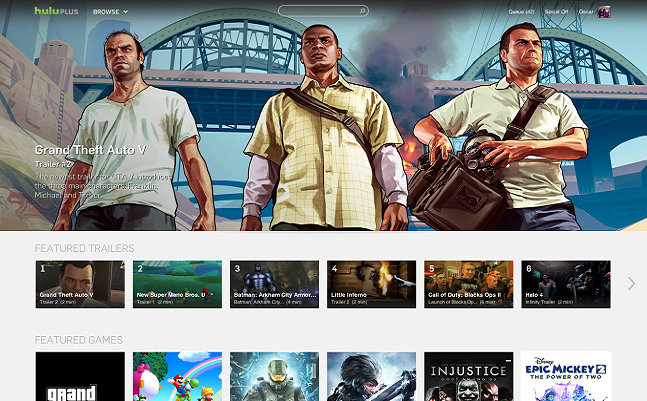 hulu video games grand theft auto