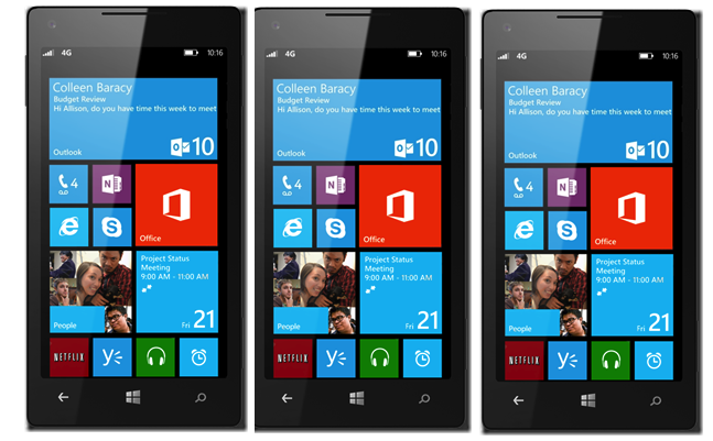 Microsoft windows phone 8