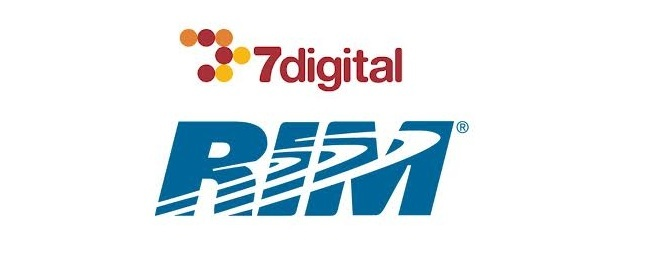 RIM partners with 7Digital to be the official BB10 music store