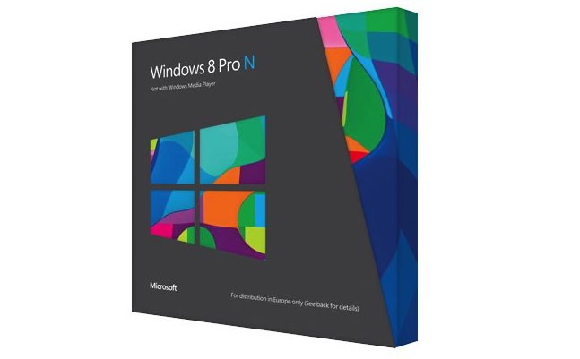 windows 8 pro n edition