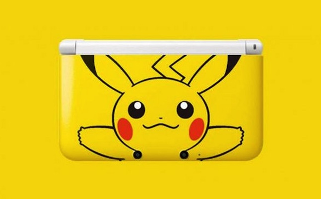 Pikachu Edition Nintendo 3DS XL