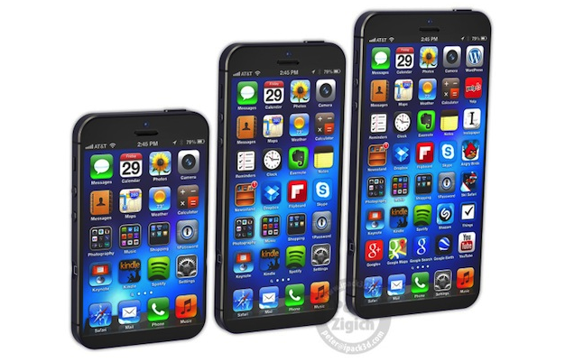 iPhone Phablet And iPhone Mini