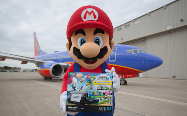 Nintendo giving away Wii U bundles to lucky  Southwest Airlines customers