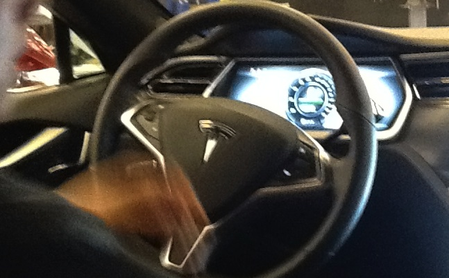 Tesla EV electric vehicle