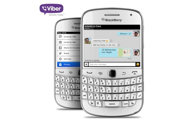 blackberry viber