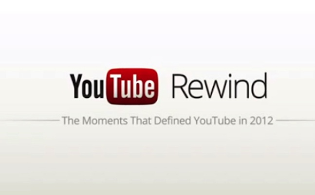 YouTube Top Trending Videos of 2012