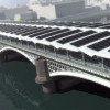 Blackfriars Railway Station goes solar with a bridge