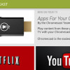 Google Play features Chromecast section