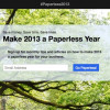Digital companies encourage us to go paperless this 2013