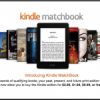 Amazon Kindle Matchbook now live