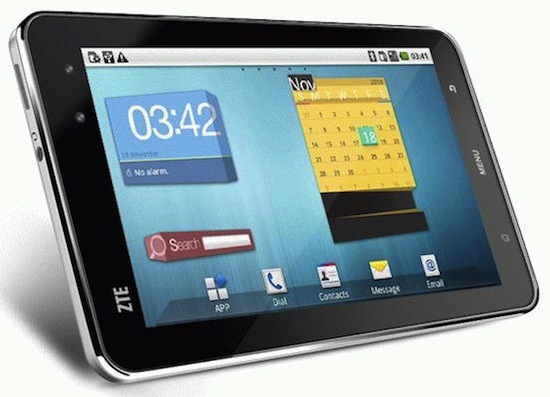 ZTE Light2 Android Tablet