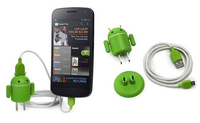 Andru Android Robot USB Device Charger