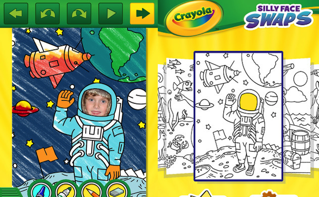 Griffin and Crayola HD Coloring Pages App