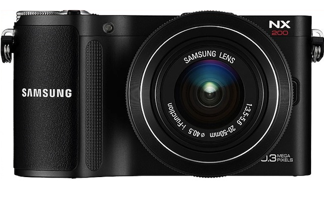 Samsung NX20, NX210 and NX1000