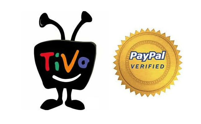 tivo and paypal